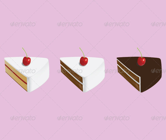 Cake - Food Objects