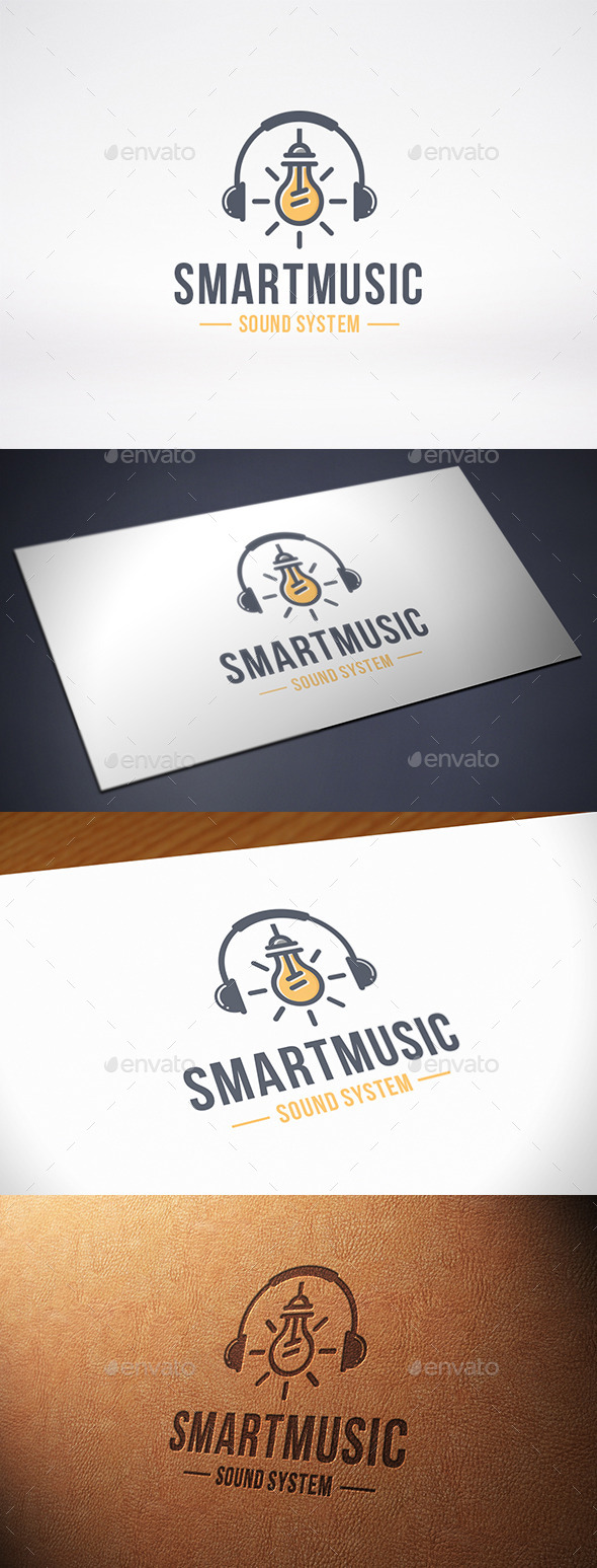 GraphicRiver Music Idea Logo Template 10540551