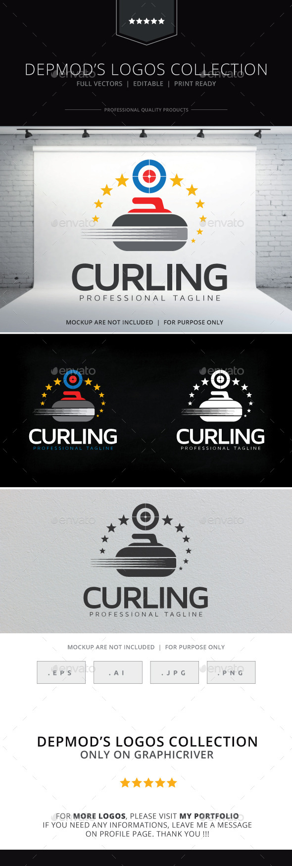 GraphicRiver Curling Logo 10541270