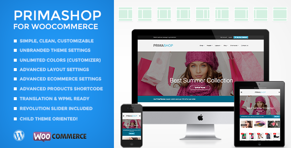 PrimaShop - Clean WooCommerce WordPress Theme - WooCommerce eCommerce