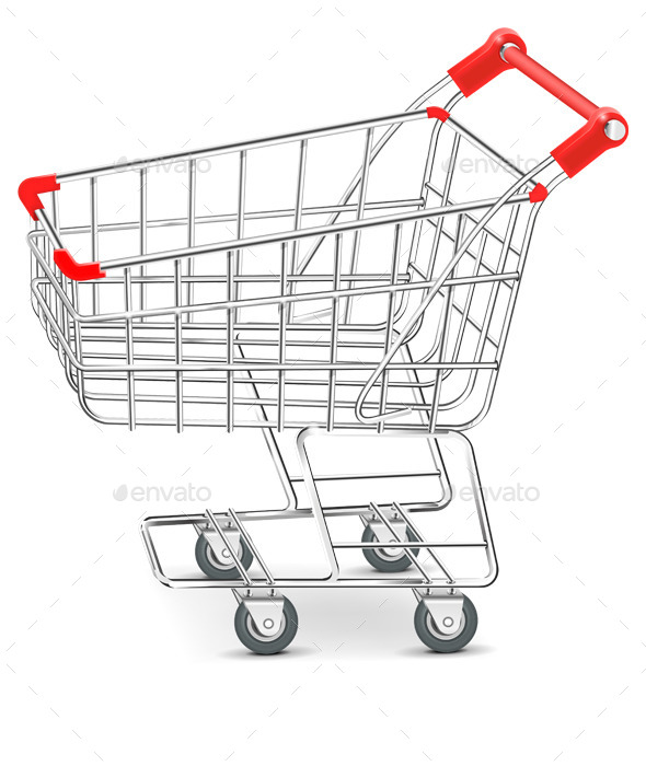 GraphicRiver Shopping Supermarket Cart Vector 10541365