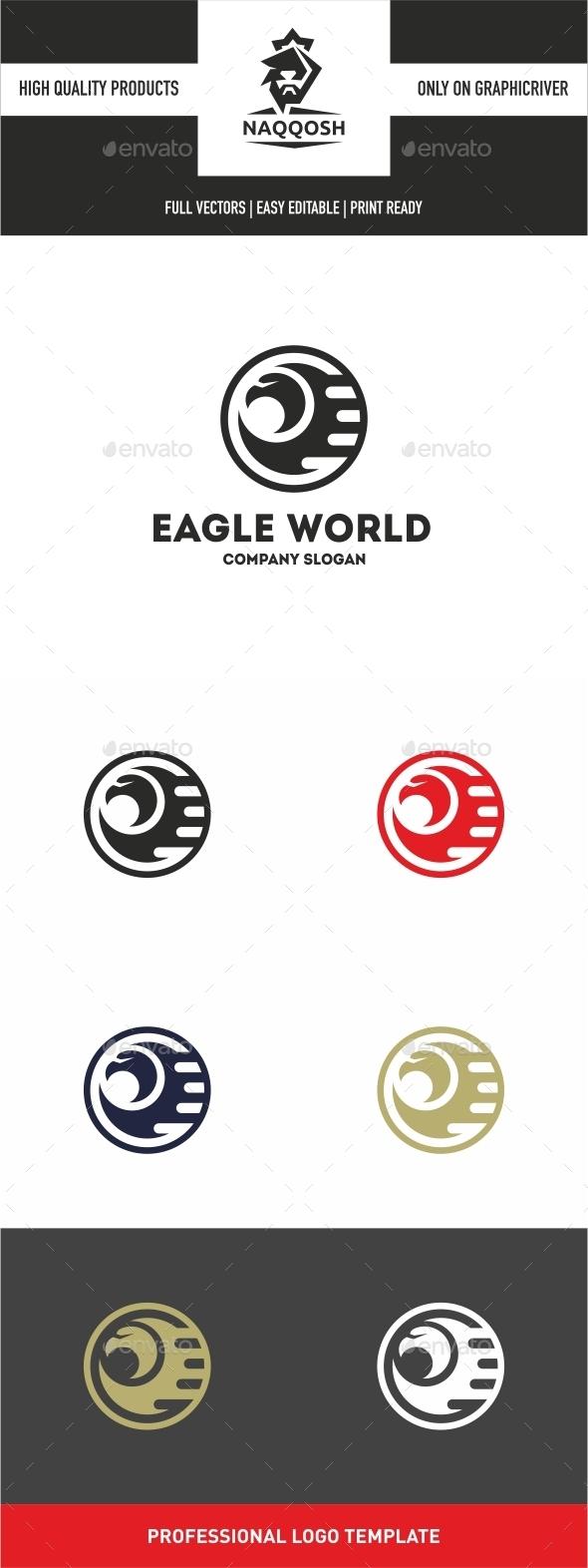 GraphicRiver Eagle World 10541697