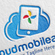 Cloud Mobile Apps Logo - GraphicRiver Item for Sale