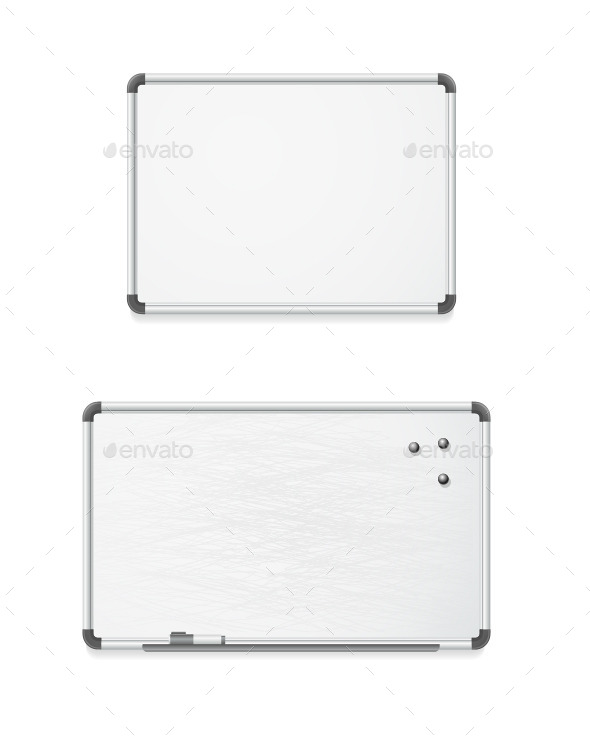 GraphicRiver Vector Empty Whiteboard 10541862