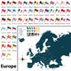 Political Map of Europe - GraphicRiver Item for Sale