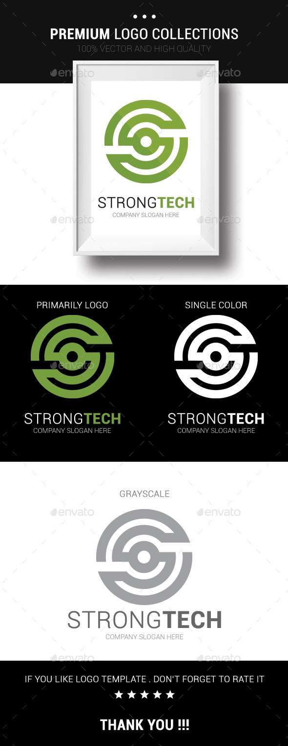 GraphicRiver Strong Tech 10542366