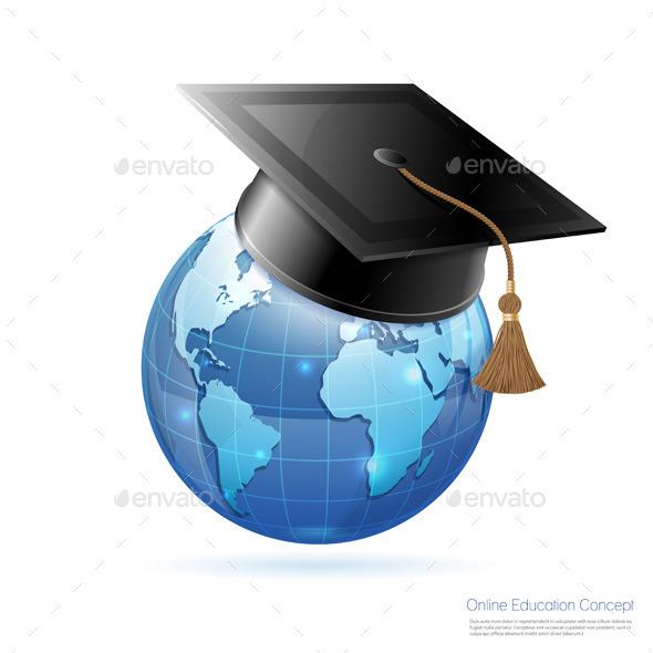 GraphicRiver Online Education Concept 10542514