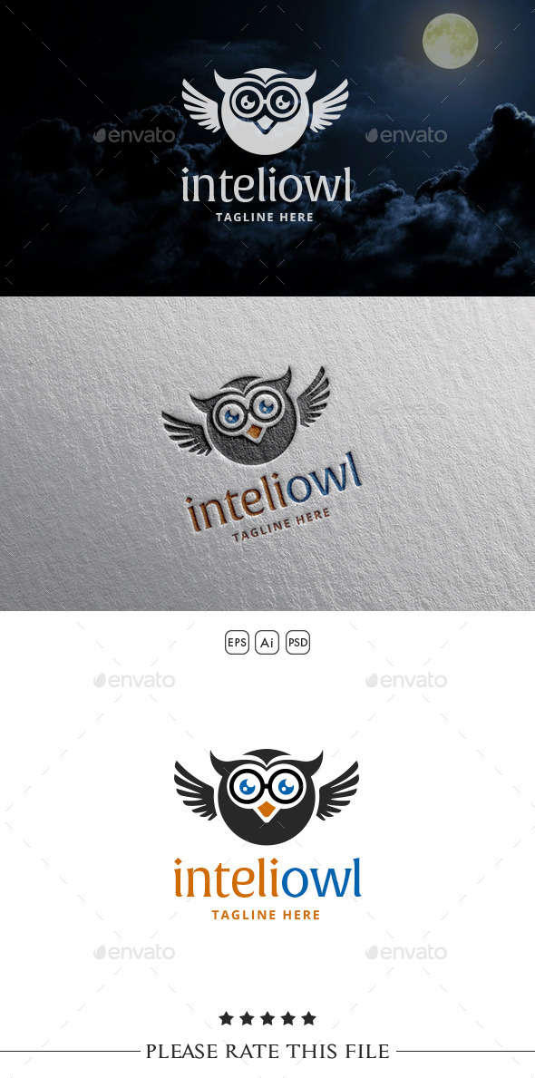 GraphicRiver Owl Logo 10542515