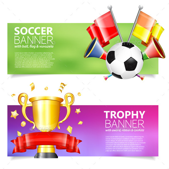GraphicRiver Soccer Banners 10542517