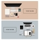 Workplace with Isolated Objects - GraphicRiver Item for Sale