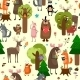 Forest Animals Background  - GraphicRiver Item for Sale