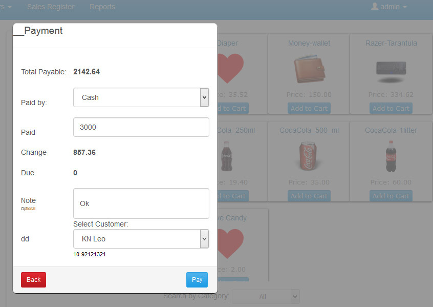 NET - Easy POS - Point of Sale | CodeCanyon | Marketopia