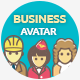 Business Avatar Icon Set - GraphicRiver Item for Sale