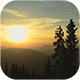 Sunset Between The Mountains - VideoHive Item for Sale