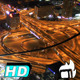Roundabout Night Thousand Cars - VideoHive Item for Sale