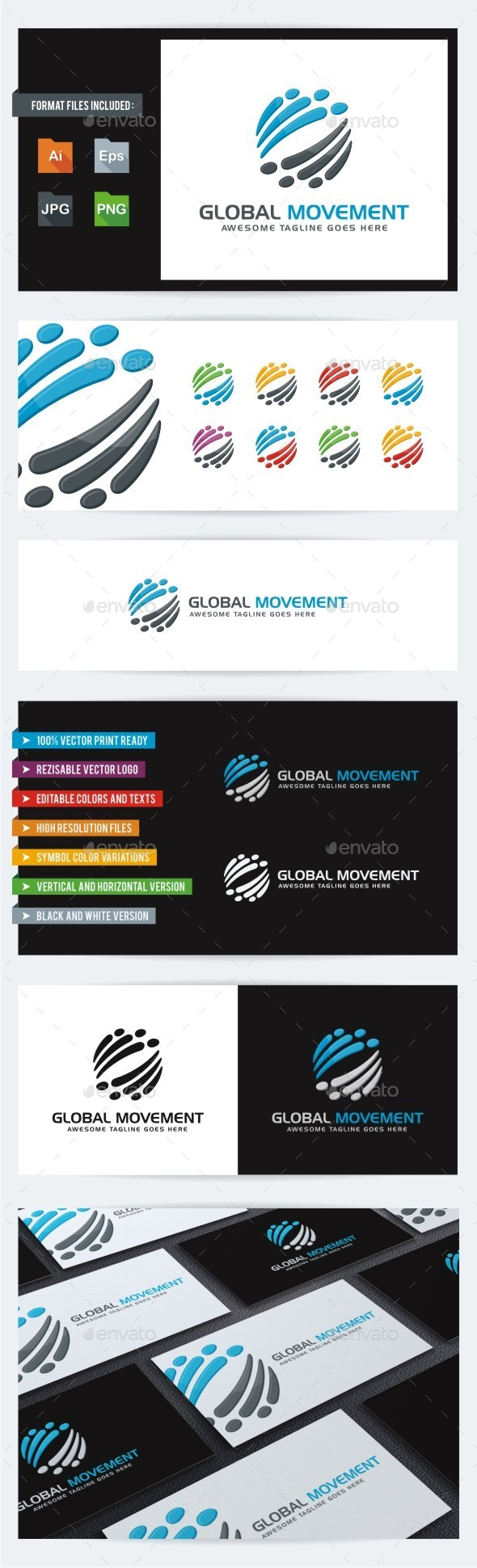 GraphicRiver Global Movement 10543131
