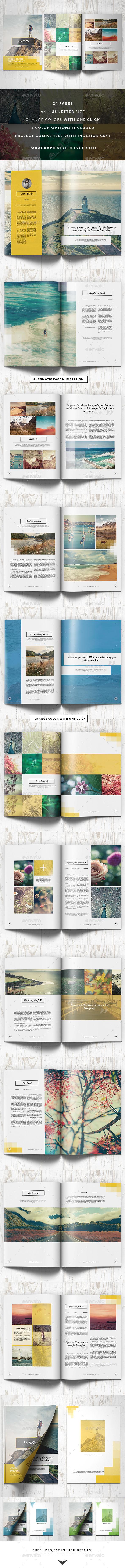 GraphicRiver Portfolio Modern Catalog Brochure 10543612