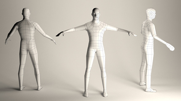 3DOcean Ultra Low Poly Guy 10543672