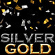 Confetti Silver and Gold - VideoHive Item for Sale