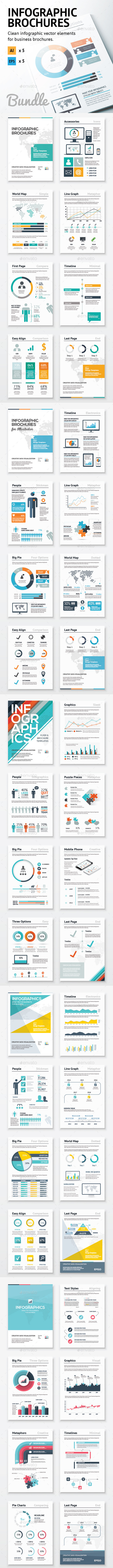GraphicRiver Infographic Brochure Elements Bundle 10543927
