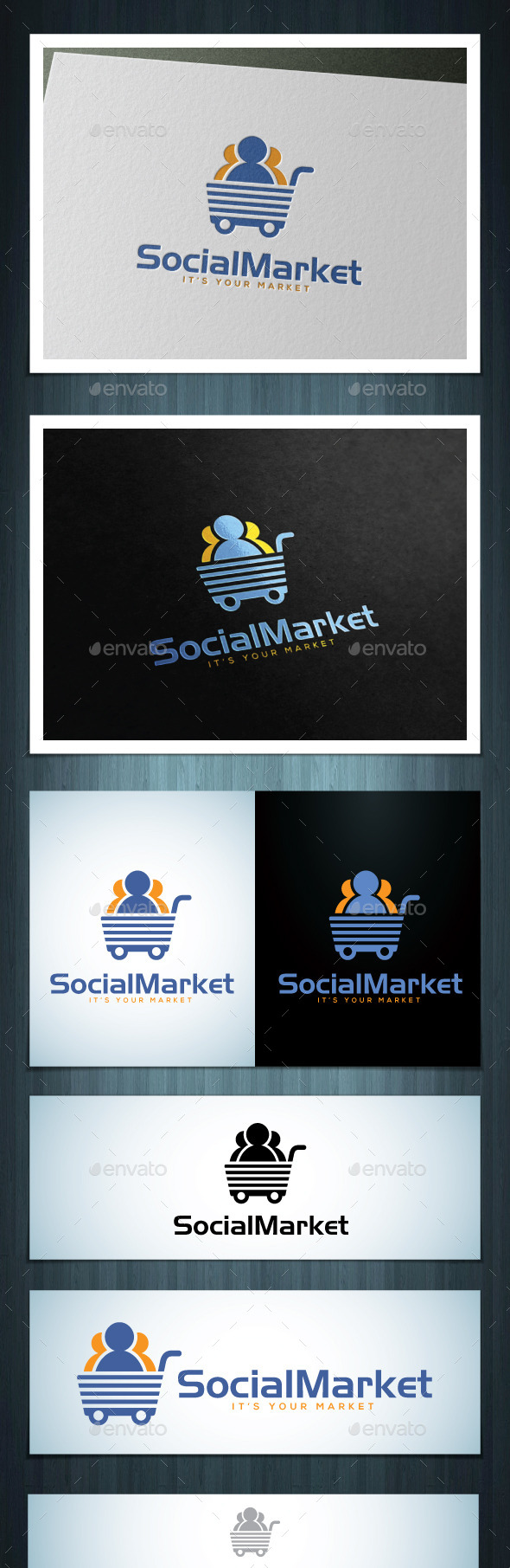 GraphicRiver Social Market 10544036