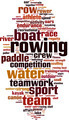 Rowing Word Cloud Concept - PhotoDune Item for Sale