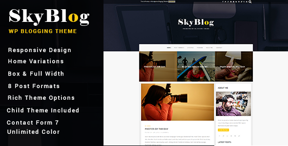 Easyblog - Responsive WordPress Blog Theme