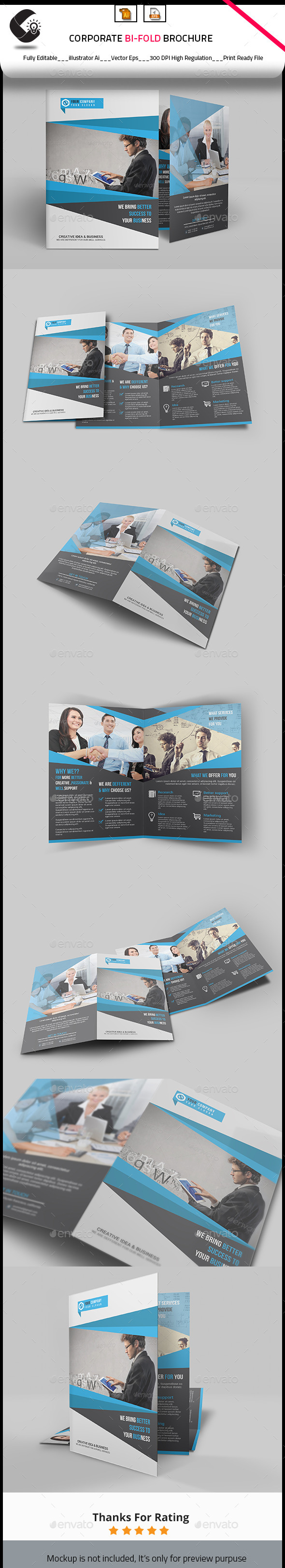 GraphicRiver Corporate Brochure Design 10544383