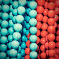 Multi-colored chaplet of various sizes and shapes  - PhotoDune Item for Sale
