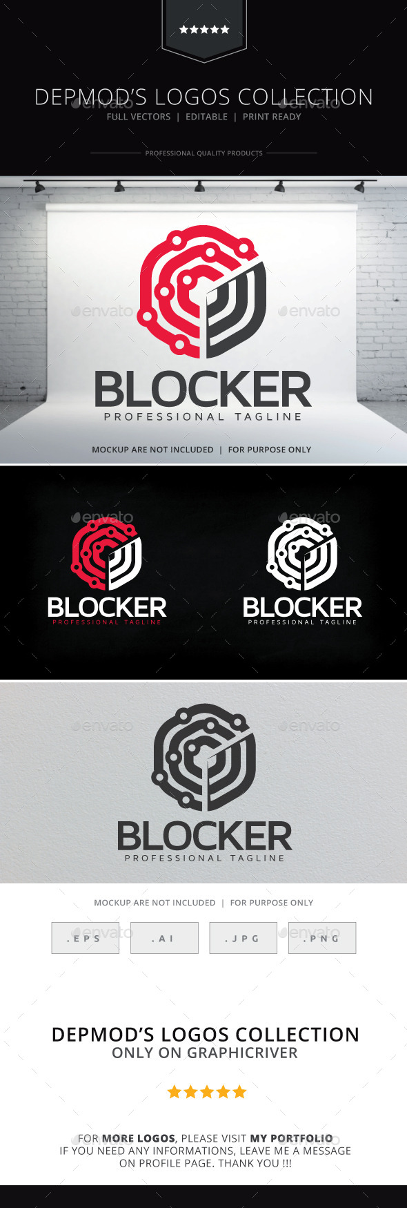 GraphicRiver Blocker Logo 10544793