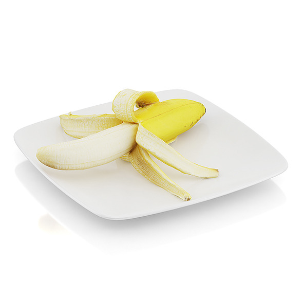 3DOcean Peeled banana 10544925