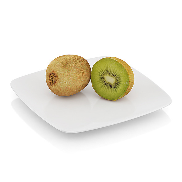 3DOcean Halved kiwi fruit 10545224