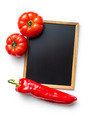 vegetable and blank chalkboard - PhotoDune Item for Sale