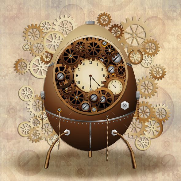 GraphicRiver Steampunk Easter Egg 10545501