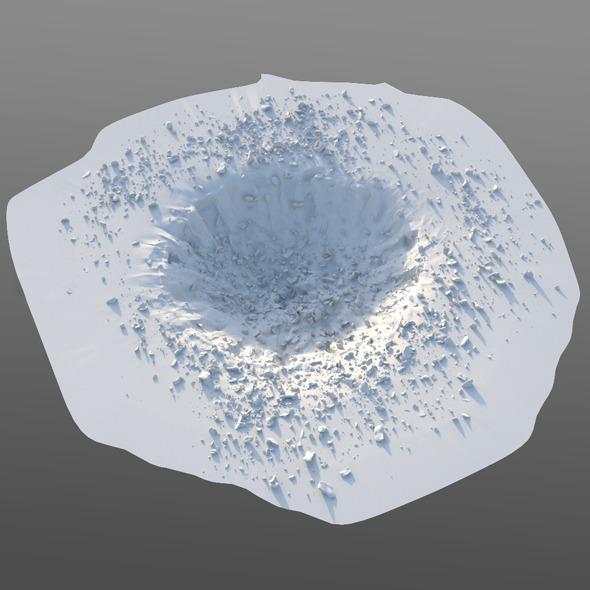3DOcean Crater 10545680