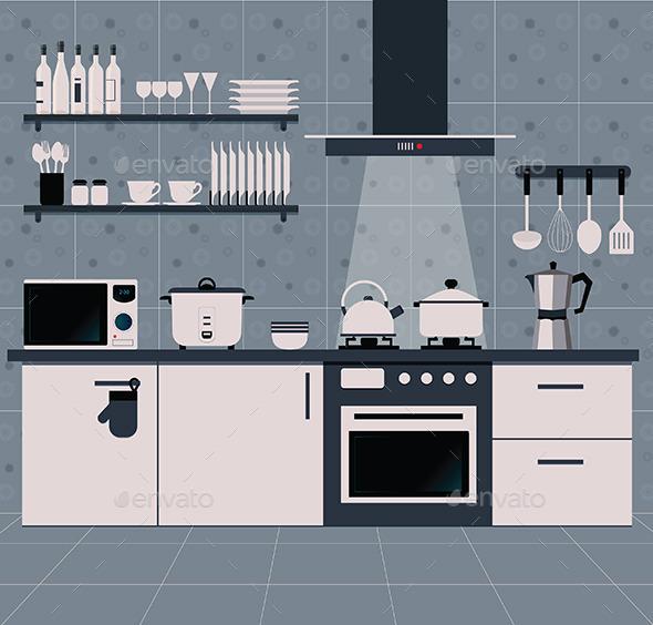 GraphicRiver Kitchen 10545767