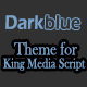 KingMEDIA - DarkBlue Theme - CodeCanyon Item for Sale