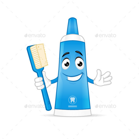 GraphicRiver Toothpaste 10545897