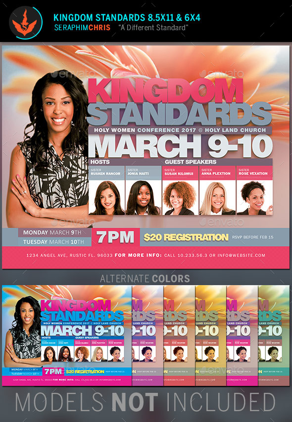 GraphicRiver Kingdom Standards Flyer Template 10546702