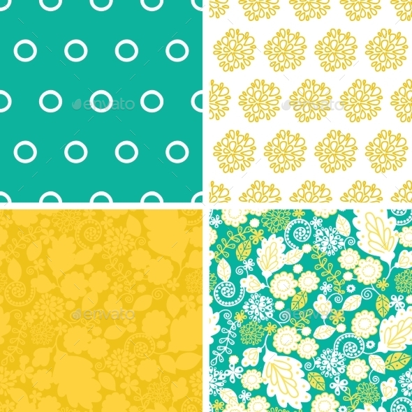 GraphicRiver Floral Pattern 10546806