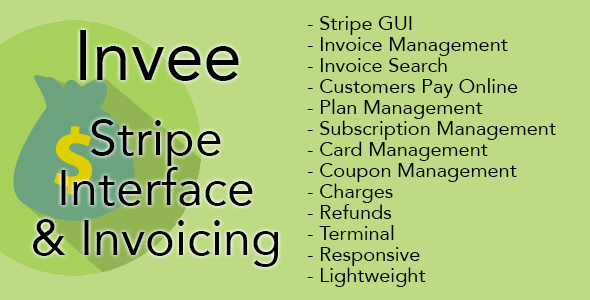 CodeCanyon Invee Stripe Interface & Invoicing Software 10546815