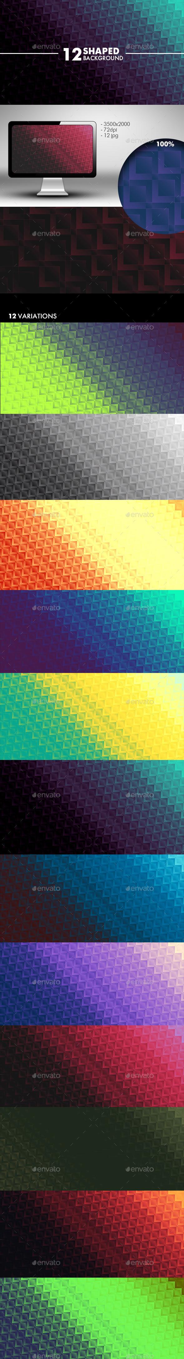 GraphicRiver Square Background 10546863