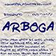 Arboga Font