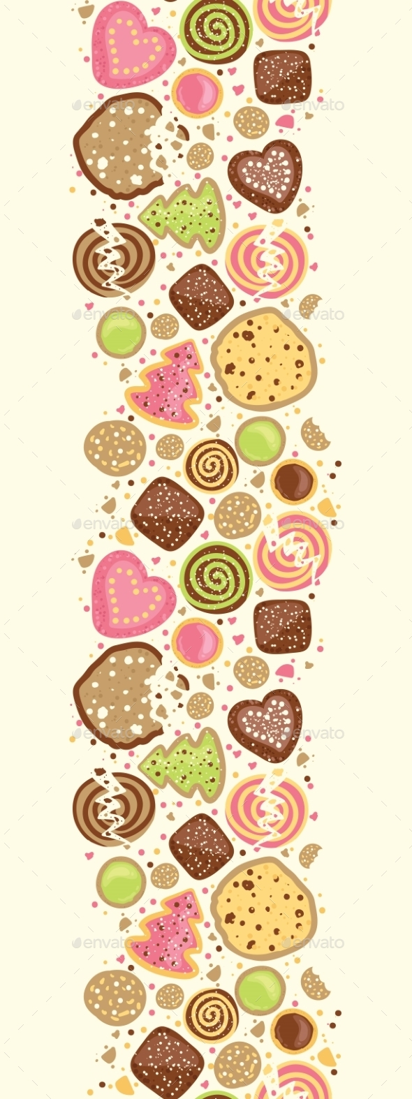 GraphicRiver Cookie Vertical Pattern 10547090