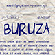 Buruza Font  - GraphicRiver Item for Sale