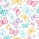 Butterflies Pattern  - GraphicRiver Item for Sale