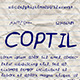 Coptil Font - GraphicRiver Item for Sale