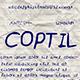 Coptil Font