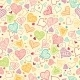 Doodle Hearts Seamless Pattern Background - GraphicRiver Item for Sale