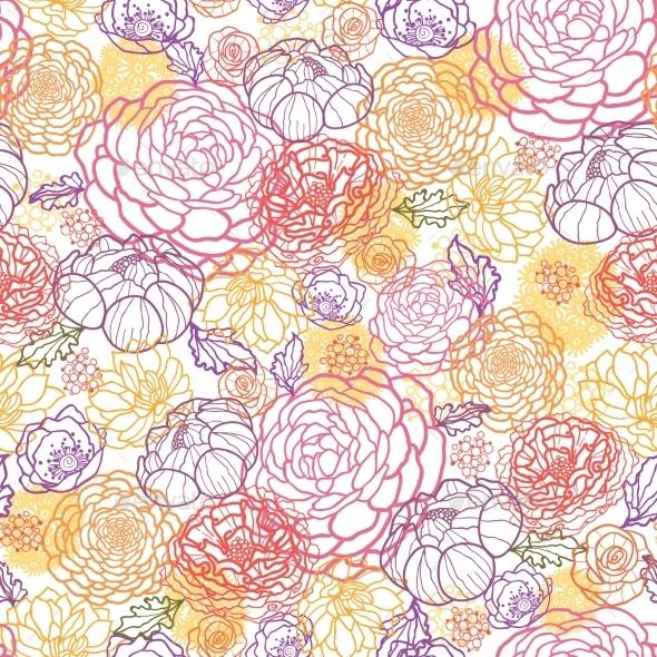 GraphicRiver Flower Pattern 10547188